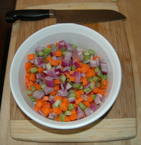 Photo of mirepoix