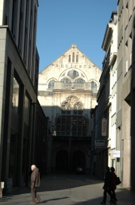 The original Antwerp Stock Exchange
